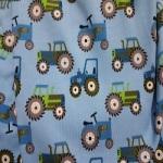 Tractor Blau