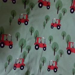Tractor fons verd